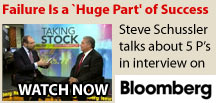 Steve Schussler Interview on Bloomberg TV